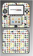 Mario Kart 7 8 Special Weapons Items Shell Video Game Skin Cover Nintendo 2DS