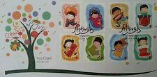 Singapore Festivals 2014 Cartoon Child New Year Christmas Celebrate (stamp FDC)