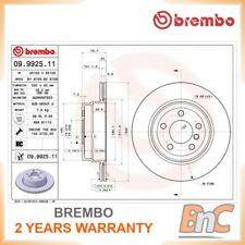 2x BREMBO REAR BRAKE DISC SET BMW OEM 09992511 34216868940