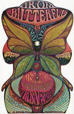 1969 Iron Butterfly 1969 Santa Rosa Fairgrounds Handbill Golden Star Dixon