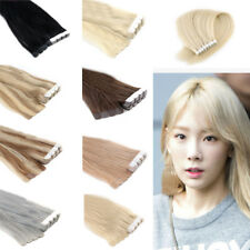 Seamless Tape in Skin Weft Remy Human Hair Extensions 13Colors 20Inch 20pcs 20G