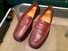 TOD'S Pumps Loafers Damenschuhe Gr.37,5 (NP270) Braun Echtleder in gutem Zustand