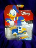 HOT WHEELS DONALD DUCK CHARACTER CAR SERIES 4 #1/6 DISNEY AGES 3 & UP