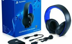 Sony PlayStation Wireless Stereo Headset 2.0- Black (PS4/PS3/PS Vita) Mint Good