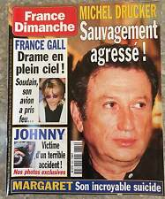 ►FRANCE DIMANCHE 2849 - HALLYDAY - GALL - DICK RIVERS - DALIDA - ANDRE RIEU