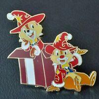 RARE Pin pin's Disney Chip & Dale Tic et Tac pin trading Disneyland Paris 20th
