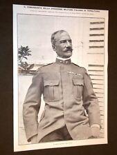 Guerra Italia vs Libia nel 1911 Tenente Luigi Caneva + Guerra civile in Turchia