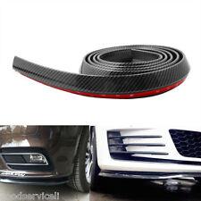 Carbon Fiber Car Front Bumper Lip Splitter Spoiler Skirt Adhesive Protector 2.5M