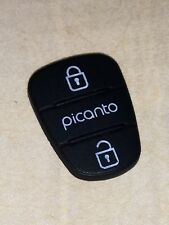 Replacement 2 button rubber pad for Kia Picanto flip key, fit 2/3 buttons remote