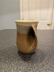 handmade ceramic mug by Neher USED