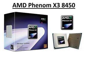 AMD Phenom X3 8450 Triple Core Processor 2.1 GHz, Socket AM2/AM2+, 95W CPU