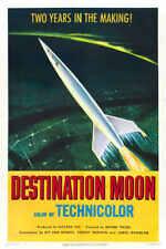1950 Destination Moon Vintage Sci Fi Movie Poster Print Style A 36x24 9Mil Paper