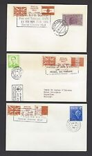 GB 1971 Postal Strike covers from 15 different countries (15)