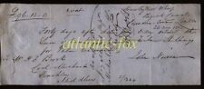 1862 LONDON, HAWLEY NEW WHARF, REGENTS CANAL, PROMISARY NOTE, J. NIXON TO BROOKS