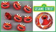 NEW SESAME ST ELMO CUPCAKE RINGS AND ELMO BAKING CUPS COMBO