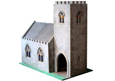Dolls House Church 1:12 Scale - Unpainted Collectable Kit