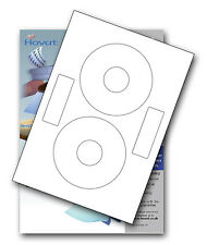 100 Hovat CD DVD Labels Matt Inline Neato style
