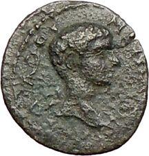Diadumenian 218AD Kotiaion in Phrygia Very Rare Ancient Roman Coin Wreath i28075