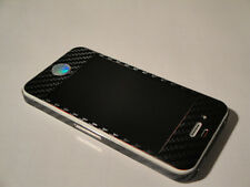 iPhone 4s 3M 3D Black Carbon Fibre Full Body Skin sticker