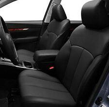 2010 - 2012 Subaru Outback Base/Premium Leather Interior seat cover - Black