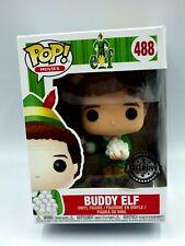 FIGURINE FUNKO POP VYNIL figure N° 488  Buddy Elfe avec Boule de neige exclusive