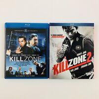Kill Zone (Ultimate Edition) and Kill Zone 2 - Blu-ray Lot