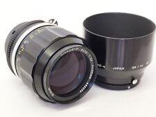 Nikon AI 105mm F2.5 Messa a Fuoco Manuale Prime Obiettivo con tappi & Cappuccio. ST N. u8829