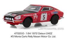 Greenlight Datsun 240Z 1972 Monte Carlo Rally Nissan Motor 47020 D 1/64