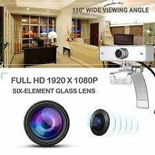 Webcam 1080P, GUCEE HD92 Full HD Web Camera with Microphone, Skype Webcams Cryst