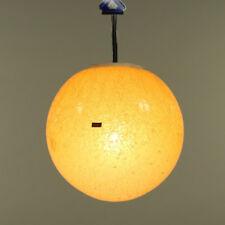 Doria Pendel Leuchte Glas Kugel Hänge Lampe Neuwertig Vintage 60er 70er Jahre