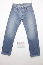 Levi's 501 boyfriend(Cod. E809)Tg45 W31 L34 Jeans verkürzt gebraucht hohe Taille