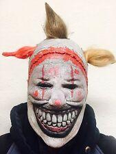 Spaventoso Evil Clown Sanguinosa si DENTI Maschera in lattice Freakshow Costume Maschere