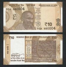 India 10 Rupees, 2018, P-New, Gandhi, Unc World Currency