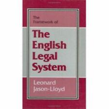 FRAMEWORK OF THE ENGLISH LEGAL SYSTEM