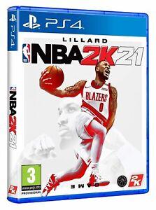 NBA 2K21 (PS4) - NEU & OVP