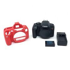 Canon EOS Rebel T7i 24.2 MP Digital SLR Camera - Black (Body Only) - 4365