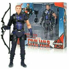 Marvel Avengers Superhero Hawkeye Civil War Series PVC Collection Action Figure