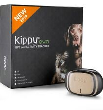 Kippy EVO, The new GPS and Activity Tracker For Dog And Cat  ( Brown Wood)