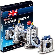 3D-Puzzle Puzzle Tower Bridge berühmteste Bauwerke der Welt ZRPZ09 32,5x7,5x11cm