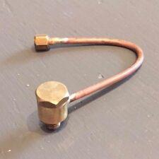 """Banjo Pressure Gauge Syphon Pipe 3/16"""" x 40tpi"""