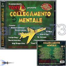 COLLEGAMENTO MENTALE RARO 2CD - TONY H GIGI D'AGOSTINO