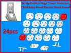 24 New Safety Plugs for Wall Electrical Outlets - Protect against Electric Shock