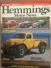 1945-1968 Dodge Power Wagon Buyers Guide, Delco 10-SI Alternator info, AMC AMX