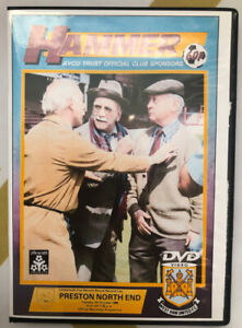 WEST HAM UNITED vs PRESTON NE 1986 CLASSIC CUP GAME AT BOLEYN DVD, ALF GARNETT