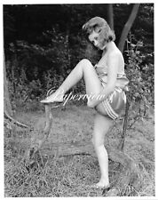 Real Photograph 8x10 Pin Up Harrison Marks Glamour Model Dawn Grayson D139