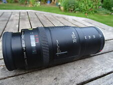 Canon EOS EF 70-210mm costante F4 AF Zoom Lens Mount in metallo