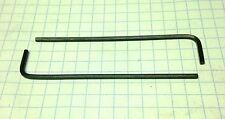 "TWO 1/8"" LONG ARM - (Allen) HEX KEYS /   ALLOY STEEL -  INCH / SAE  USA"