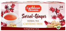Caribbean Dreams Sorrel & Ginger Tea (Pack of 12)