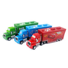 Disney Pixar Cars Mack Lightning McQueen & Chick Hicks & King Truck Car Loose