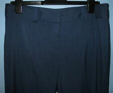 Women's Size 14 Unlisted by Kenneth Cole Dress Pants Blue w/ White Pin Stripes